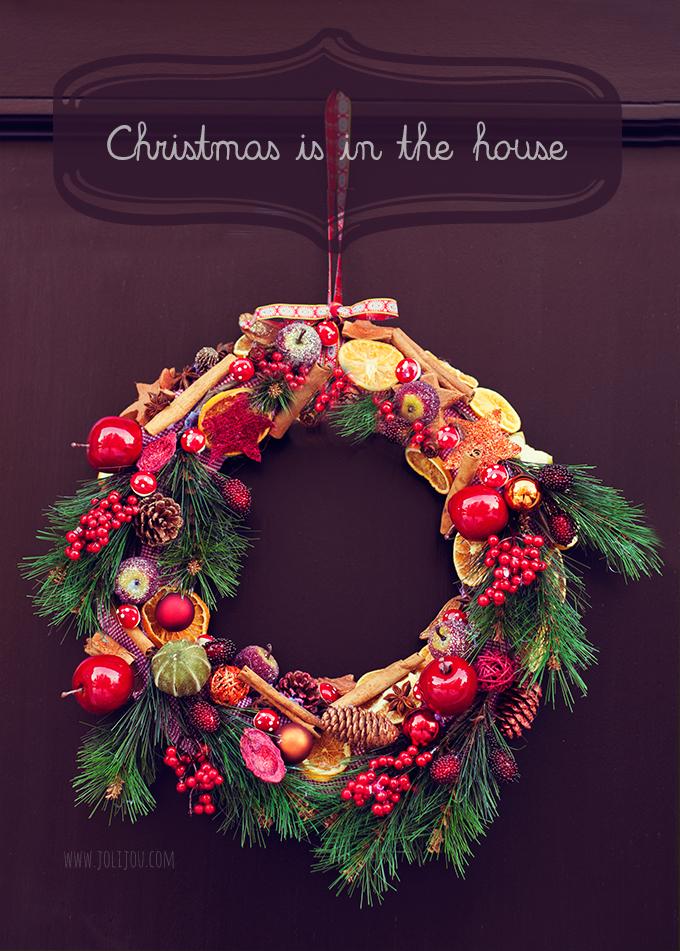 Christmas Wreath Weihnachtskranz