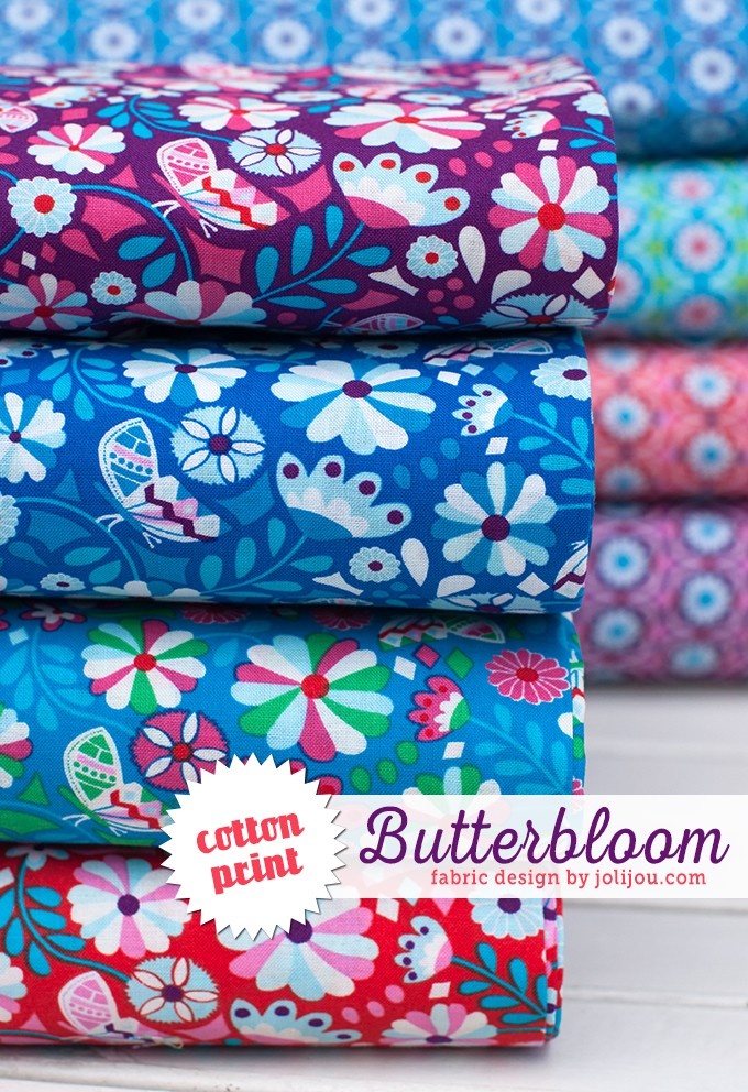 Butterbloom-schrift