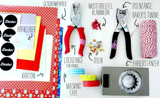 Musterbeutelklammern basteln  Schöner Verpacken – Jolijou