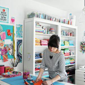 Jolijou in her Studio